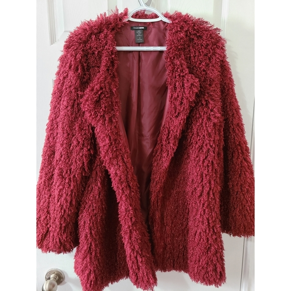 Fashion Nova Faux Fur Jacket